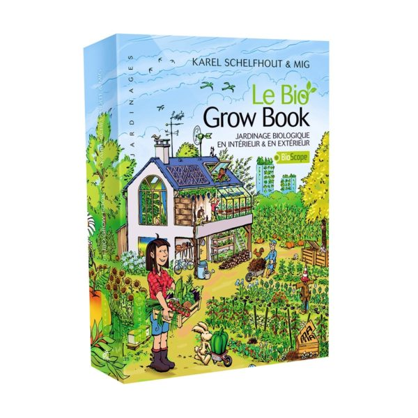 Le bio grow book guide de jardinage bio guano diffusion for Boutique jardinage en ligne