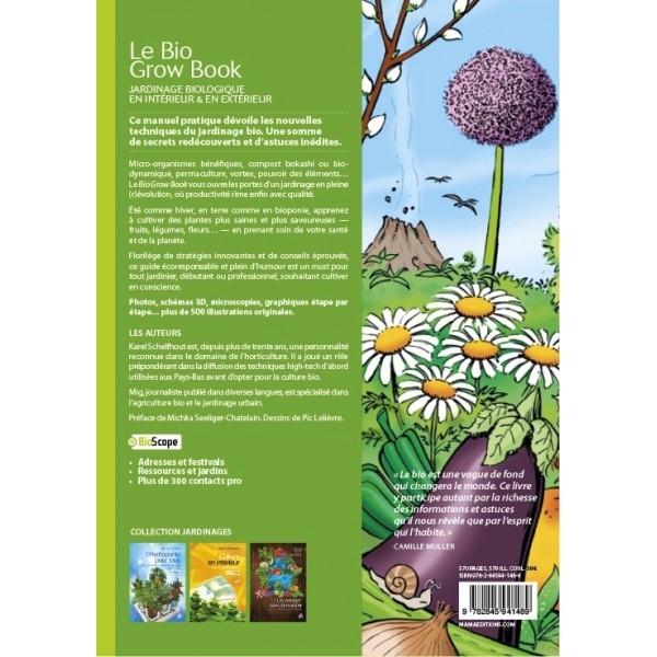 Le bio grow book guide de jardinage bio guano diffusion for Les techniques de jardinage